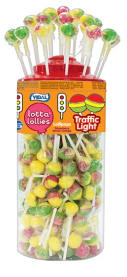 Vidal Traffic Light Lottalollies Featured Image