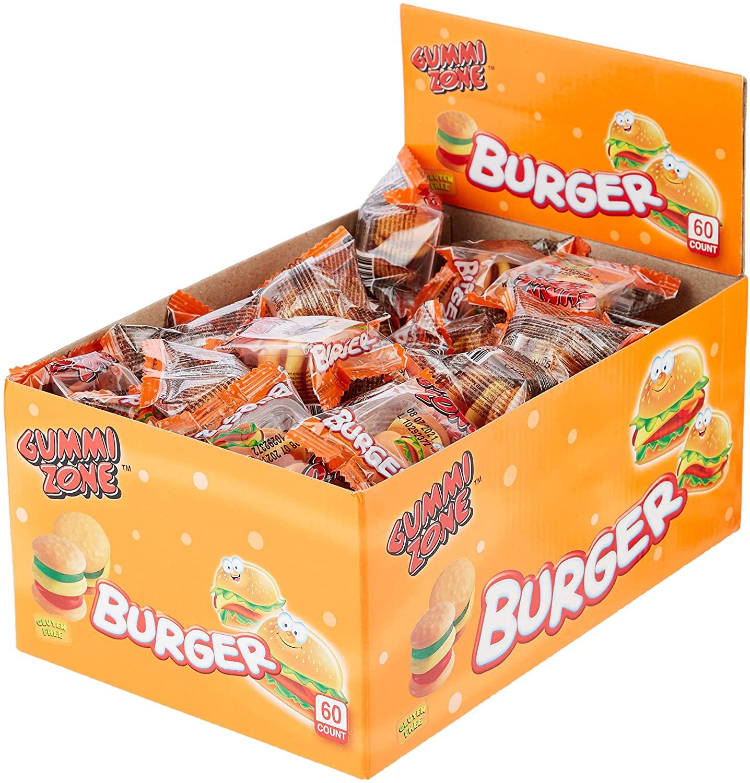 Gummi Zone Mini Burgers Featured Image